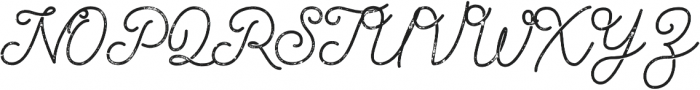 Palm Beach Script Rough otf (400) Font UPPERCASE