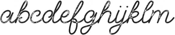 Palm Beach Script Rough otf (400) Font LOWERCASE