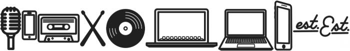 Palm Canyon Drive Bonus Glyphs Heavy otf (800) Font OTHER CHARS