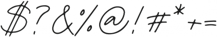 Palm Desert Script otf (400) Font OTHER CHARS