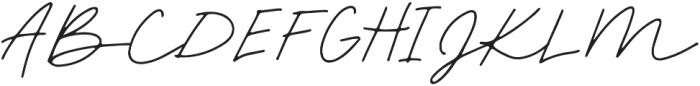Palm Desert Script otf (400) Font UPPERCASE