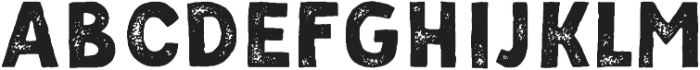 Palmer Sans Serif Aged Regular otf (400) Font UPPERCASE