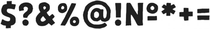 Palmer Sans Serif Regular otf (400) Font OTHER CHARS