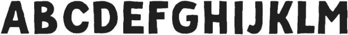 Palmer Sans Serif Regular otf (400) Font UPPERCASE