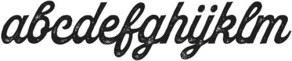 Palmer Script Aged Regular otf (400) Font LOWERCASE