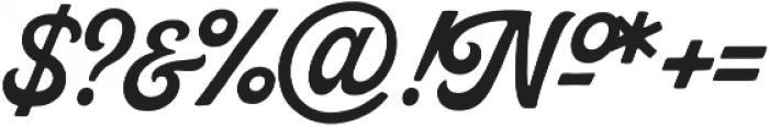 Palmer Script Regular otf (400) Font OTHER CHARS