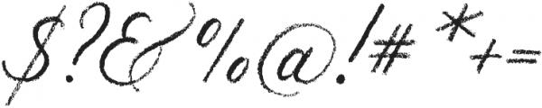Palomino Script otf (400) Font OTHER CHARS