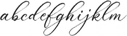 Palomino Script otf (400) Font LOWERCASE