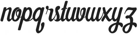Pampkino otf (400) Font LOWERCASE