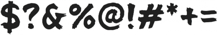 Panda otf (400) Font OTHER CHARS