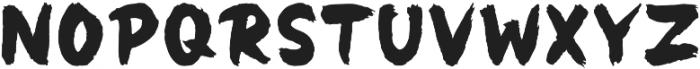 Panda otf (400) Font UPPERCASE