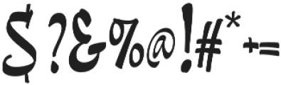 Pando Script otf (400) Font OTHER CHARS