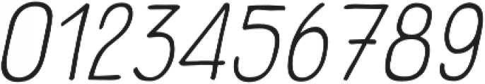Panforte Pro Light Italic otf (300) Font OTHER CHARS