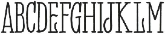 Panhitra otf (400) Font UPPERCASE