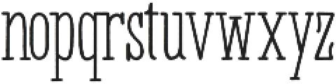 Panhitra otf (400) Font LOWERCASE