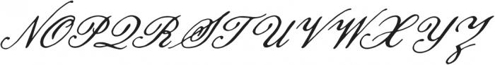 Pansy Bo Regular otf (400) Font UPPERCASE