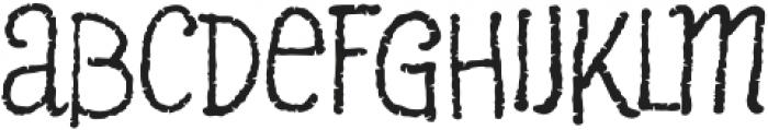 Pantano Pro Regular otf (400) Font LOWERCASE