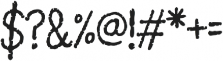 Pantano Regular otf (400) Font OTHER CHARS