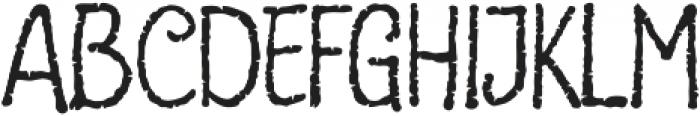 Pantano Regular otf (400) Font UPPERCASE