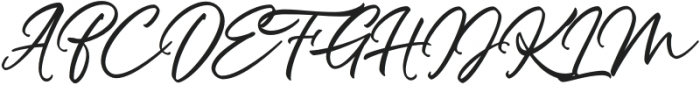 Panther otf (400) Font UPPERCASE