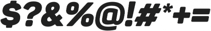 Panton Black Italic otf (900) Font OTHER CHARS