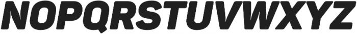 Panton Black Italic otf (900) Font UPPERCASE