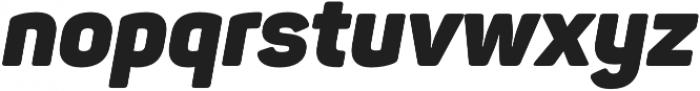 Panton Black Italic otf (900) Font LOWERCASE