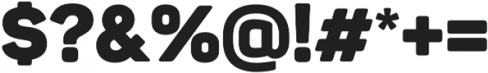 Panton Black otf (900) Font OTHER CHARS