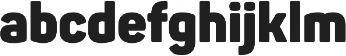 Panton Black otf (900) Font LOWERCASE