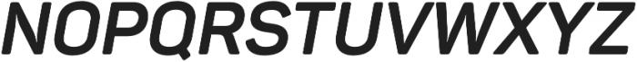 Panton Bold Italic otf (700) Font UPPERCASE