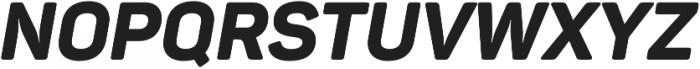 Panton ExtraBold Italic otf (700) Font UPPERCASE
