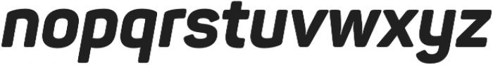 Panton ExtraBold Italic otf (700) Font LOWERCASE