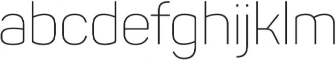 Panton ExtraLight otf (200) Font LOWERCASE