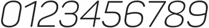 Panton Light Italic otf (300) Font OTHER CHARS