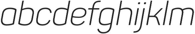 Panton Light Italic otf (300) Font LOWERCASE