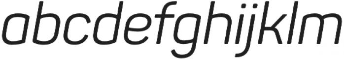 Panton Regular Italic otf (400) Font LOWERCASE
