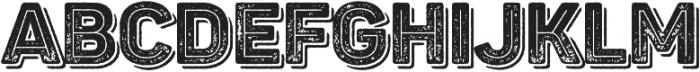 Panton Rust Black Grunge Inline Shadow otf (900) Font UPPERCASE
