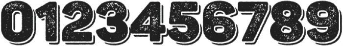Panton Rust Black Grunge Shadow otf (900) Font OTHER CHARS