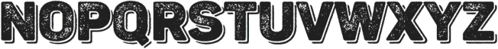 Panton Rust Black Grunge Shadow otf (900) Font UPPERCASE