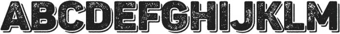 Panton Rust Black Grunge Shadow otf (900) Font LOWERCASE