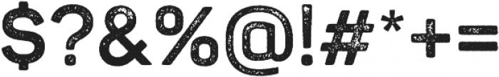 Panton Rust Bold Grunge otf (700) Font OTHER CHARS