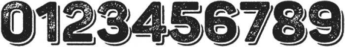 Panton Rust ExtraBold Grunge Shadow otf (700) Font OTHER CHARS
