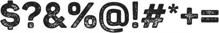 Panton Rust ExtraBold Grunge otf (700) Font OTHER CHARS