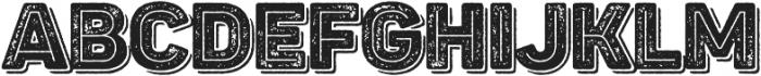 Panton Rust Heavy Grunge Inline Shadow otf (800) Font LOWERCASE