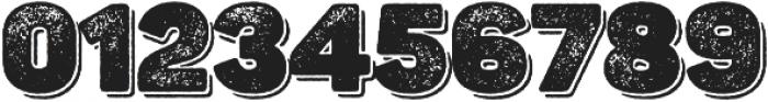 Panton Rust Heavy Grunge Shadow otf (800) Font OTHER CHARS