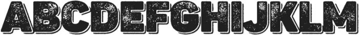 Panton Rust Heavy Grunge Shadow otf (800) Font LOWERCASE