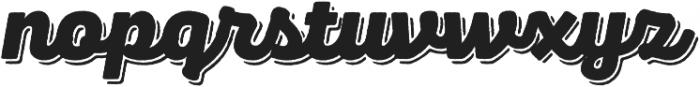 Panton Rust Script Black Base Shadow otf (900) Font LOWERCASE