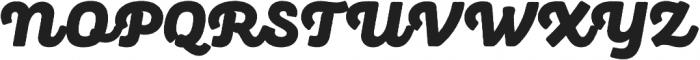 Panton Rust Script Black Base otf (900) Font UPPERCASE
