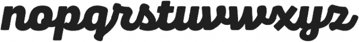 Panton Rust Script Black Base otf (900) Font LOWERCASE