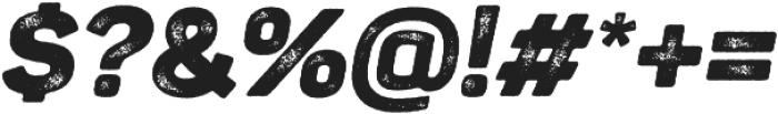 Panton Rust Script Black Grunge otf (900) Font OTHER CHARS